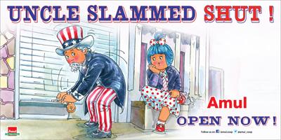 US Govt shut down! UNCLE SLAMMED SHUT!