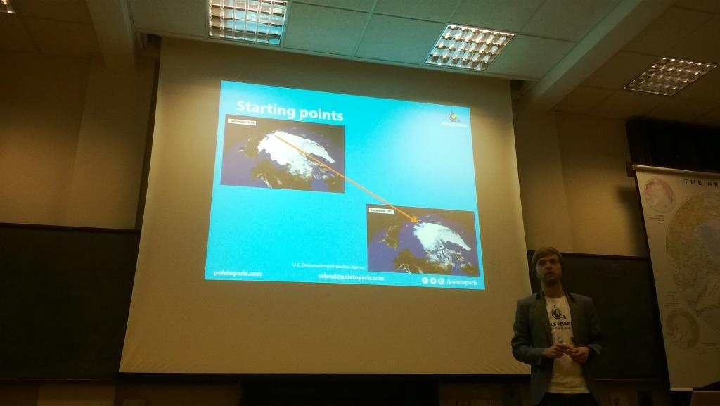 Erlend Knudsen explains the begining.