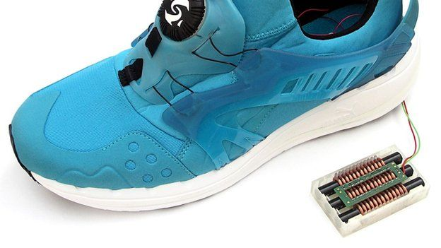 Shoes that generate enegry