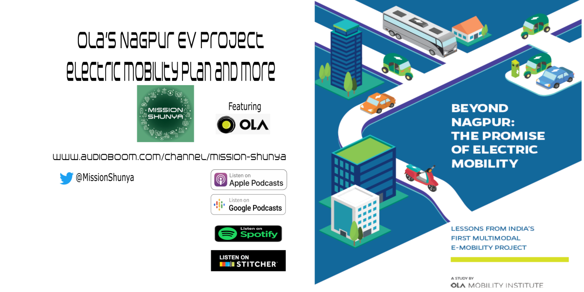 Ola's Nagpur EV project, electric mobility plan and more